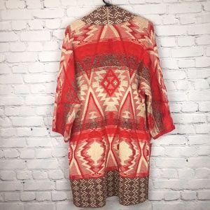 Lucky Brand Boho Aztec Cardigan Sweater